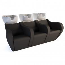 """Парикмахерская мойка """"Celebrity Prime Electric Sofa 3P"""""""
