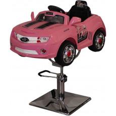 """Детское парикмахерское кресло машинка """"Camaro"""""""