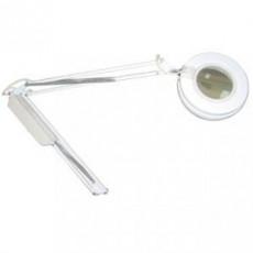 Лампа лупа 3 д белая