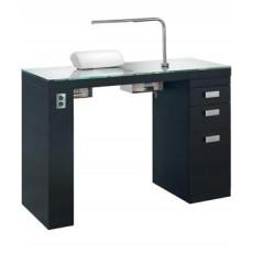 """Маникюрный стол """"Smart Nails Black"""" (с вытяжкой)"""