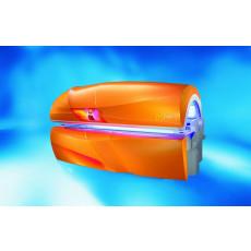 """Профессиональный горизонтальный турбо-солярий """"S-55 Qeen Berry Twin Power - Soltron"""""""